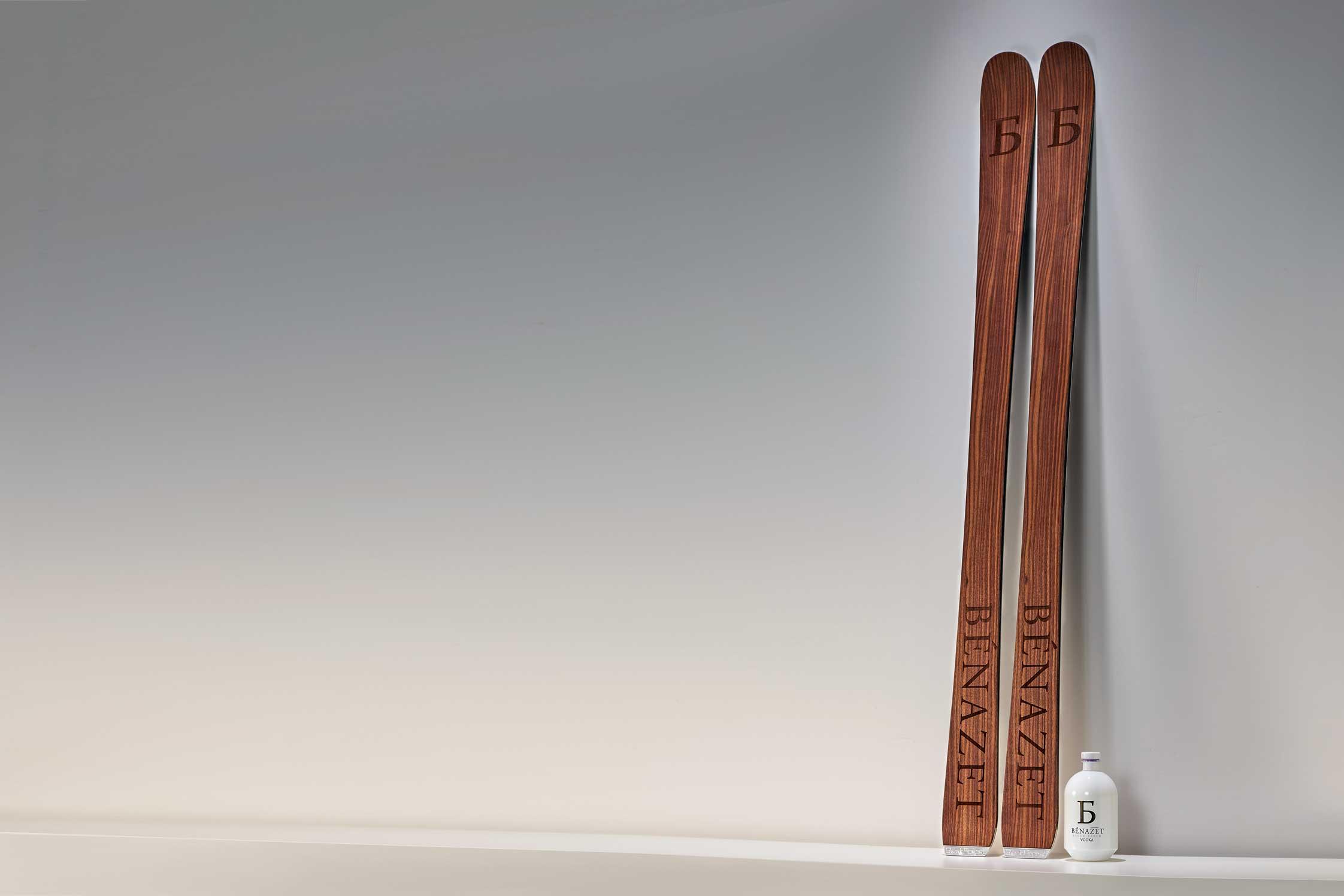 fotodesign Benazet-Ski and Benazet Vodka